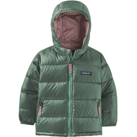 Patagonia Hi-Loft Down Sweater Hoody Baby Kids regen green